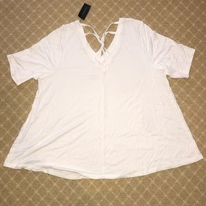 NWT Lane Bryant Knot-back Swing Tee 18/20